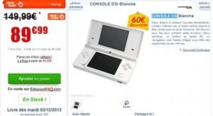 console Nintendo DSi 89 euros