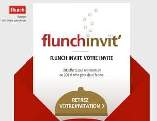 coupon 10 euros Flunch