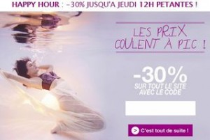 happy hours Pomm Poire lingerie