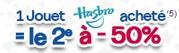 un jouet Hasbro le deuxième est à moins 50%