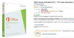 office 2013 famille et etudiant moins cher