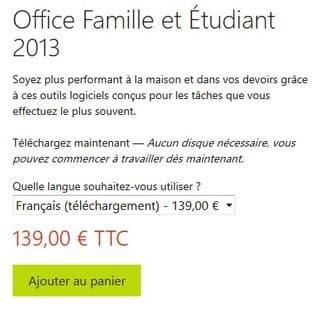office sur Microsoft Store