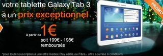 Orange offres de Noel Samsung Xbox iPAd