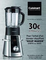 offre remboursement Blender Chauffant Cuisinart