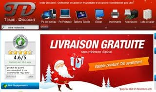 Votre ordinateur portable, tablette et autres pas cher d'occasion garantie + livraison gratuite