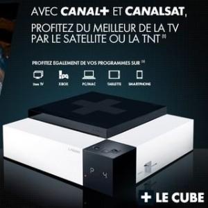 vente privee canal plus le cube