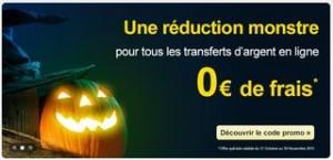 Transfert d'argent en ligne sans frais par Western Union