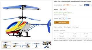 10 euros le mini helicoptere telecommande