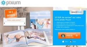 10 euros offert livre photo code promo