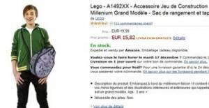 15 euros le sac de rangement et tapis de jeu Lego Star Wars
