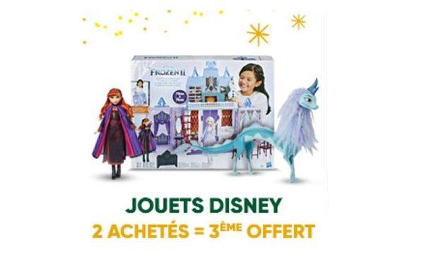 2 poupées disney princesses achetées = la 3ème offerte