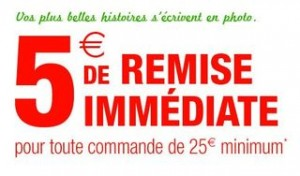 5 euros remises photoservices