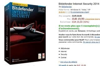 Bitdefender Total Security 2014 pas cher