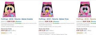 Fluffings a moins de 15 euros