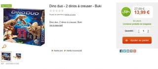 Moins de 14 euros Dino Duo Buki (dinosaures à déterrer)
