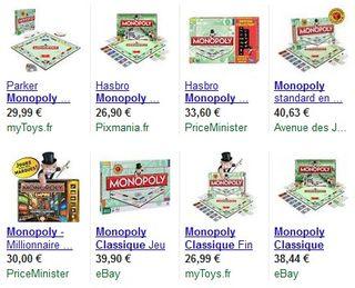 Monopoly classique moins cher
