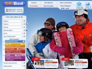 Séjours ski pas chers : des dizaines de séjours en promo chez Skibed