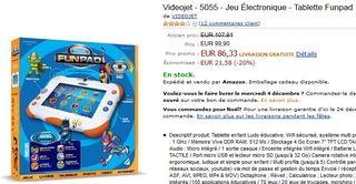 Tablette Funpad le meilleur prix