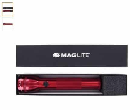 Vente flash coffret lampe torche Maglite 25cm