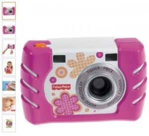 appareil photo antichoc Fisher-Price W1460 29 euros