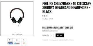 SOLDES : Moins de 19 euros le casque Philips Citiscape