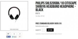 casque audio Philips Citiscape Shibuya pas cher