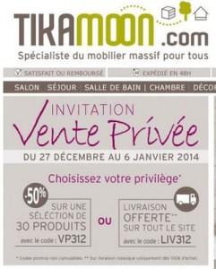 Tikamoon vente privee moins 50 meubles vasques - Code promo livraison gratuite vertbaudet ...