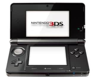 Vente flash 133 euros la nintendo 3ds noire port inclus for Ecran noir appareil photo 3ds