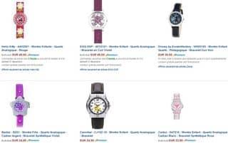 Moins 40 suppl mentaires sur les montres m me en promo - Code promo les enfants du design ...