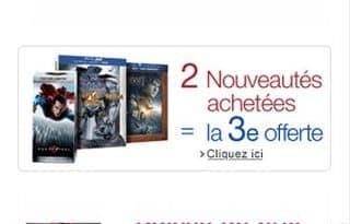 offre DVD 1 gratuit pour 2 achetes