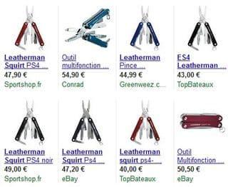Leatherman Squirt ES4 pas cher