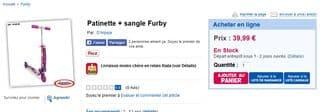patinette Furby toysrus