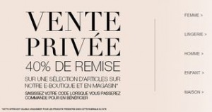 vente privee Marks et Spencer
