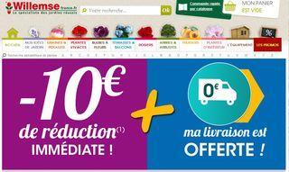 Willemse : 10 euros offerts des 40 euros d'achats