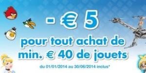 5 euros de remises des 40 euros achats DreamLand