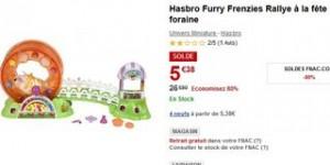 5 euros le jouet rally a la Fete Foraine Furry Frenzies