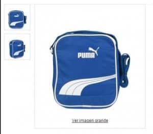 7 euros le sac bandouliere Puma bleu