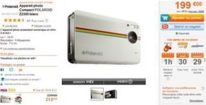 Appareil photo instantané numérique Polaroid Z2300