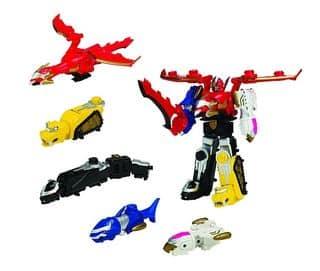 Figurine Power Rangers DX Megazord Mega Force