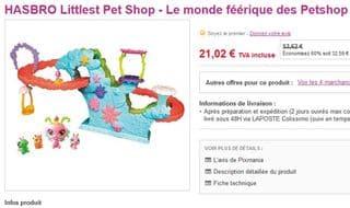 Monde Feerique PetShop Hasbro