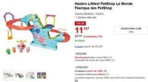 Monde Feerique des PetShop Hasbro moitie prix