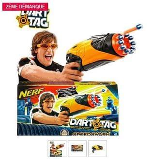 Pistolet Dart Tag SpeedSwarm NERF à 12,90 euros