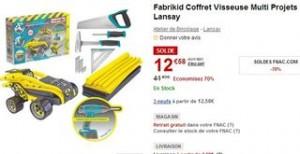 SODLES Coffret Fabrikid Visseuse Multi Projets Lansay