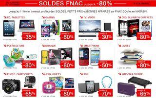 SOLDES FNAC 2014