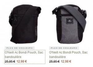 Sac bandoulière O'Neill à moins de 13 euros
