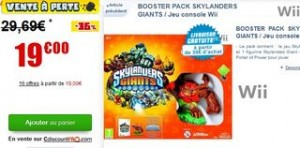 Skylanders Giants - Booster pack en soldes
