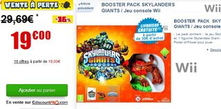 Skylanders Giants - Booster pack en soldes