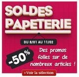 Soldes Papeterie Decitre 2014