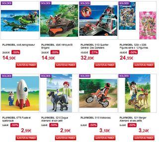 Soldes Auchan : Playmobil à moitié prix