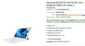 Tablette Samsung Ativ Tab 3 en soldes
